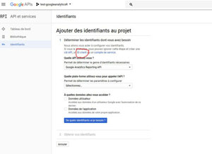 identifiants OAuth