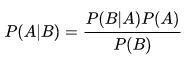 Téorème de Bayes