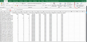 Excel sources