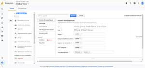 Page de Création de Segment Google Analytics