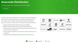 Anaconda Distribution Open Source