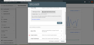 Validation Site Google Search Console