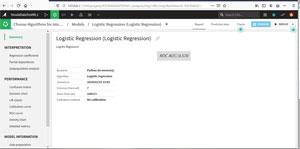 Rapport Complet Régression Logistique