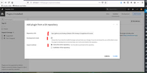 Ajouter un plugin via Github