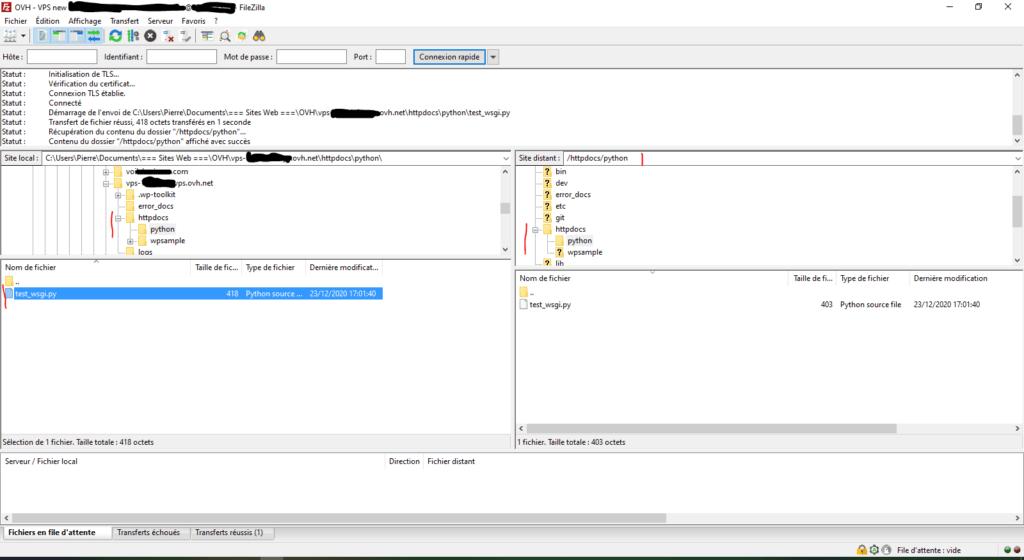 Upload test_wsgi.py via FTP